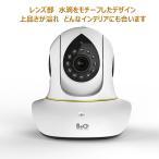 防犯カメラ ネットワークカメラ  ベビーモニター  WEBカメラ 100万画素 パソコン スマホ タブレット対応 ワイヤレス対応 録画可 スマホ利用可