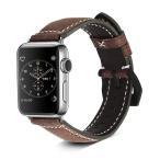 ショッピング時計 TOYOSO 時計ベルト 時計バンド Apple watch ベルト ステンレス アップルウォッチベルト 42mm ダークブラウン 瘋紋様 メール便送料無料