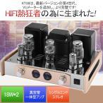 【高級感溢れ 】 Nobsound EL34 真空管アンプ HiFi 2.0チャンネル A級 ステレオアンプ 12W * 2