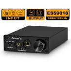 ESS9018 USB DAC OPT / COAX デジタル アナログ コンバーター ヘッドフォンアンプ 24Bit/192 kHz