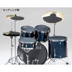 """TAMA タマ ドラムセット用消音パッドセット 12"""",13"""",14"""",16"""",22""""BD,HI-HAT,CYMx2 SPP522C"""
