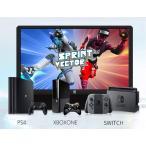 Corkea 13.3インチ2Kモバイルモニター 2560 * 1440解像度 PS3 PS4 ゲーミングモニター HDR搭載高画質 IPS