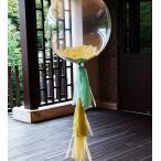 バルーン コンフェッティ フリンジ 結婚式 パーティー 二次会 装飾 T555 フレッシュグリーン 二次会 結婚式