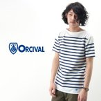 【BASIC】ORCIVAL オーシバル メンズ RACHEL ボーダーカットソーS/S[RC01WC/6102]【クーポン対象外】