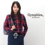 ショッピングジムフレックス Gymphlex ジムフレックス レディース ビエラ起毛チェックボタンダウンシャツ(J-0872VHC)(2016FW)