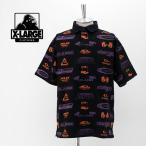 (SALE 30%OFF)XLARGE エクストララージ メンズ オールオーバー プリント ラグビーシャツ[101202014015](2020SS)(返品交換不可)