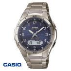 カシオ・チタン電波ソーラー腕時計 通販限定モデル WVA-M640TD-2AJF