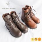 シュシュドママン ChouChoudemaman ブーツ シューズ 靴 レザー 革 本革 レースアップドミニク
