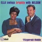 エラ・スウィングス・ブライトリ−・ウィズ・ネルソン +3 (ELLA SWINGS BRIGHTLY WITH NELSON)     (MEG-CD)