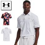 アンダーアーマー  プレイオフポロ2.0 ゴルフ ポロシャツ  1327037 メンズ BLK BLK BLK 日本 LG  日本サイズL相当