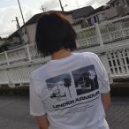アンダーアーマー  ショートスリーブスプリットヘム トレーニング Tシャツ  1329614 メンズ WHT BLK 日本 LG  日本サイズL相当