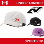   在庫限り販売終了   アンダーアーマー レディース キャップ 帽子 UNDER ARMOUR UAウーマンズアーマーソリッドキャップ〔AAL2523〕