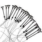街灯 道路灯  DIY模型 建築模型用 ジオラマ 20本セット 情景コレクション・鉄道模型・ジオラマ・建築模型・教