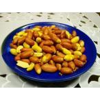 【送料無料】おつまみやおやつに 人気の味付ピーナッツお徳用300g/ローストピー/皮付きピーナッツ