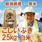 【内山農産の厳選米】平成28年産米 新潟県産 一等米「こしいぶき」 白米30kg