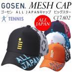 ゴーセン GOSEN テニス ALL JAPANキャップ ビッグスター C17A02/帽子/メッシュキャップ/2017年モデル(ネコポス不可)