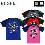 ゴーセン GOSEN プラクティスシャツ ラグラングラフィック J18P04 半袖Tシャツ 練習着 2018年春モデル M便 1/1 物流