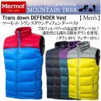 (エントリーP6倍)マーモット Marmot メンズ Trans down DEFENDER Vest MJDF6007/ダウンベスト/2016〜17年秋冬モデル(ネコポス不可)