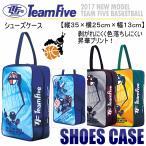 チームファイブ Team Five バスケットボール シューズケース シューズバッグ ASC35/2017年春夏モデル(ネコポス不可)