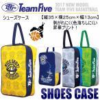 チームファイブ Team Five バスケットボール シューズケース シューズバッグ ASC37/2017年春夏モデル(ネコポス不可)