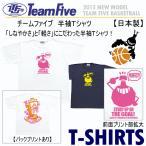 チームファイブ Team Five メンズ バスケットボール Tシャツ/半袖/バスケ練習着 AT4301/AT4308/2016年継続モデル