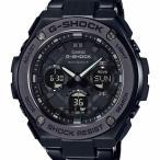 G-SHOCK Gショック CASIO カシオ ジーショック G-STEEL Gスチール オールブラック 電波ソーラー メタルバンド GST-W110BD-1BJF