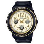ショッピングbaby BGA-151EF-1BJF Baby-G ベビーG CASIO カシオ アナデジ 黒 ブラック レディース 腕時計 国内正規品 送料無料
