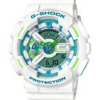 ショッピングShock GA-110WG-7AJF G-SHOCK Gショック ジーショック カシオ CASIO アナデジ デジアナ  白 ホワイト メンズ 腕時計 国内正規品 送料無料