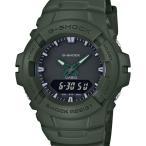 ショッピングShock G-100CU-3AJF G-SHOCK Gショック ジーショック カシオ CASIO オールグリーン 緑 クリーンミリタリー メンズ 腕時計 国内正規品 送料無料