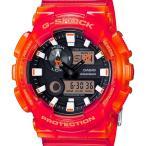 GAX-100MSA-4AJF CASIO カシオ Gショック G-SHOCK ジーショック Gライド ジーライド レッドスケルトン 赤 メンズ 腕時計 国内正規品 送料無料