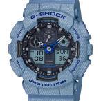 ショッピングShock GA-100DE-2AJF G-SHOCK Gショック ジーショック ジーショック CASIO カシオ デニムカラー メンズ 腕時計 国内正規品 送料無料