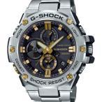 ショッピングShock GST-B100D-1A9JF G-SHOCK Gショック ジーショック ジーショック CASIO カシオ モバイルリンク機能 G-STEEL Gスチール メンズ 腕時計 国内正規品 送料無料