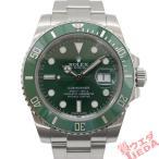 【天白】ロレックス サブマリーナ デイト グリーン 116610LV ランダム SS 自動巻 仕上 男 腕時計