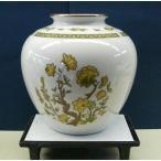 ノリタケ花瓶陶器花器 フラワーベース 084