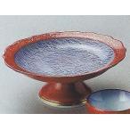和食器05707-177 朱巻むさしの高台刺身鉢 /15.8×6cm 料理道具・魚料理・刺身皿・光