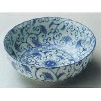和食器08431-197 藍彩菊型3.5鉢 /10.6×4.2cm 料理道具・魚料理・刺身皿・光