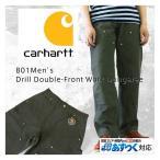 Carhartt  カーハート B01 Men's Double-Front Work Dungaree ダブルニーダックペインターパンツ /モスグリーン/