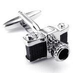 MFYS Jewelry ファッション メンズ アクセサリー カメラ カフス 専用収納ケース付き