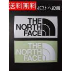 2枚セット THE NORTH FACE ザ ノースフェイス カッティングステッカー ブラック&ホワイト