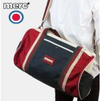 Merc London メルクロンドン トリコロール ナイロン バレルバッグ メンズ レディース 【送料無料】 新作 バレル バッグ かばん ネイビー