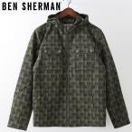 ベンシャーマン Ben Sherman アノラックジャケット パーカ ウィンドブレーカー ジオ ダークグリーン メンズ プレゼント ギフト