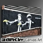 Banksy �Х󥯥��� Pulp Fiction Banana 1 ������