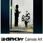 Banksy �Х󥯥��� Police Man Little Girl Bombs ������