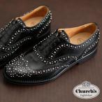 Church's チャーチ レザー 革靴 Burwood Met バーウッド スタッズ ブローグ シューズ レディース メンズ