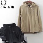 フレッドペリー 秋冬 メンズ プルオーバー スウェットシャツ フーディー Fred Perry 2色 ブラック ウォームストーン 正規販売店