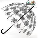 フルトン 傘 レディース FULTON 長傘 女性用 透明 鳥かご おしゃれ ビニール傘