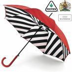 フルトン x ルルギネス 傘 Lulu Guinness x FULTON コラボ ブルームズベリー レディース 長傘