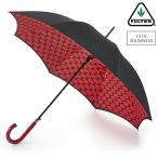 ルルギネス 傘 Lulu Guinness x FULTON コラボ ブルームズベリー リップスグリッド 長傘