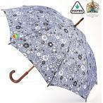 フルトン 傘 長傘 アンブレラ Kensington UV UVカット 日傘 晴雨兼用 インディゴフローラル FULTON レディース