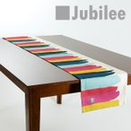 ショッピングテーブル テーブルランナー 北欧 カラフルバー LAMOPPE × Jubilee コラボデザイン 183×30